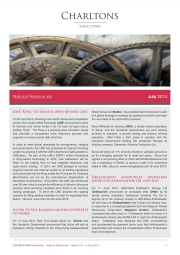 Charltons Natural-Resources-Newsletter 014 LME Ring to remain open beyond 2015